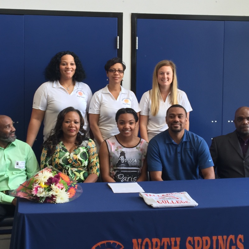 Bethany signs with Talladega College
